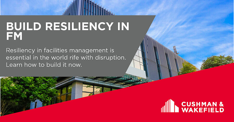 resiliency in facilities management